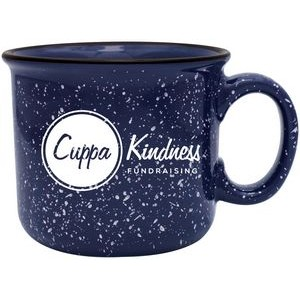 14 Oz. Aurora Sturdy Speckled Ceramic Mug
